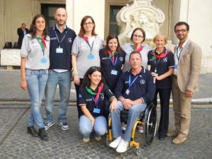 Giornata del disabile_ Palazzo Chigi