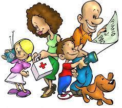 Comportamento in ordinario: protezione civile in famiglia