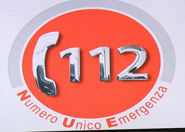 logo del numero unico di emergenza