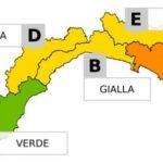 Mappa meteo a Liguria. disponibile su Live Storm