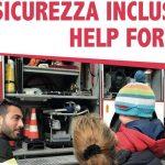 locandina convegno Per una sicurezza inclusiva help for all