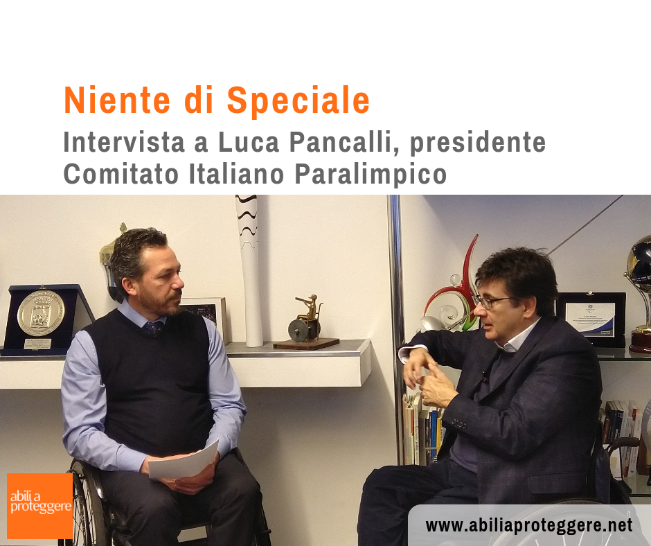 Intervista Luca Pancalli
