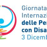 logo giornata delle persone con disabilità. nella stasase giornata presentazione rapporto Conoscere il mondo della disabilità.