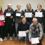volontari Croce Verde di Nizza Monferrato partecipanti al corso in LIS