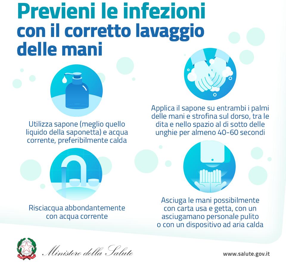 comportamenti per prevenire infezioni coronavirus
