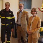 Collaborazione tra VVF Trieste e Burlo Garofano