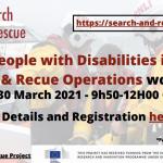 seminario internazionale online disabilità ricerca e soccorso