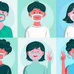 mascherine trasparenti per alunni
