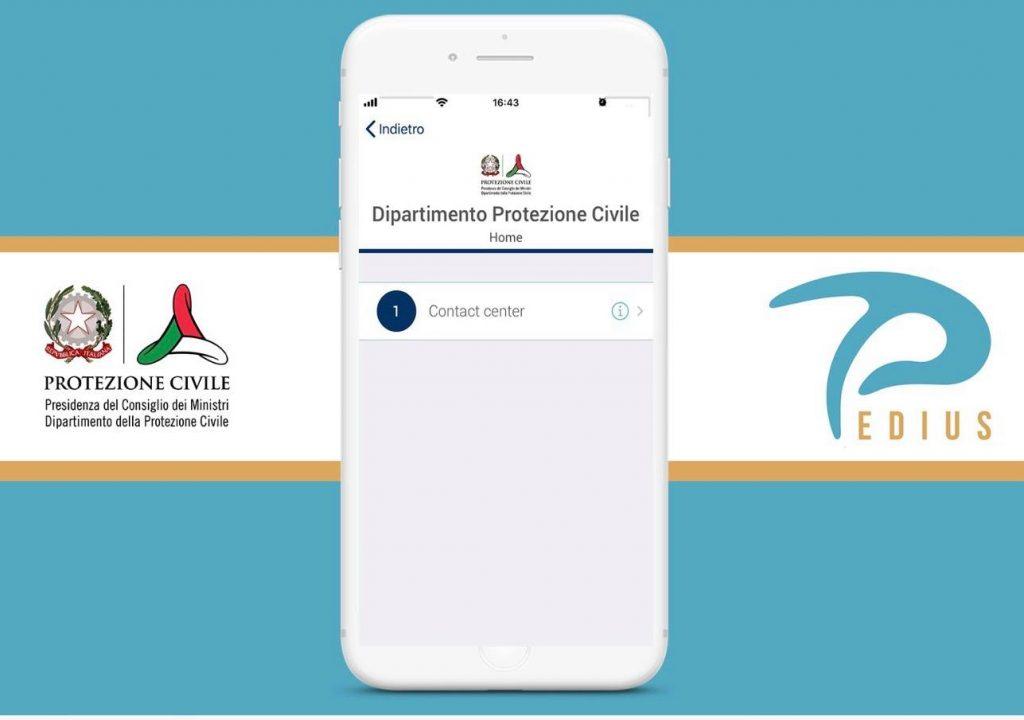 Dipartimento collabora con l'App Mobile Pedius per consentire alle persone sorde di accedere al Contact Center