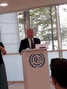 Il direttore di ITCILO, Yanguo Liu, ha dato il via all'Inclusion Day