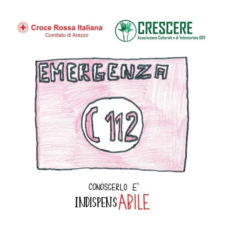 copertina opuscolo Emergenza 112: conoscerlo è indispensAbile